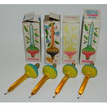 Vintage Focos De Burbuja Para Serie Navideña De Coleccion