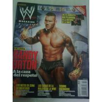 Lucha Libre Revista Oficial W Magazine Randy Orton 2012