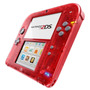 Nintendo 2ds Crystal Red