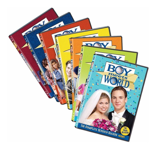 Aprendiendo A Vivir Boy Meets World Serie T 1 - 7 Latino Dvd
