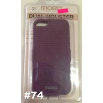 Caratula Dual Holster Nuevas Para Iphone 5/5s Varios Modelos