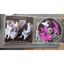 Cd Black Sabbath, Dio Autografiado Hh Leer Características