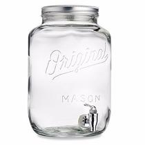 Mason Jars Dispensador De Agua 2.15 Galones 8 Lt