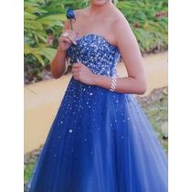 e3a09f7de Vestido Xv Años Color Azul Rey en venta en Pascual Ortiz Rubio ...