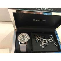 798a18ebfb26 Reloj P dama Marca Bebe Con Accesorios 100% Original Y Nuevo en ...