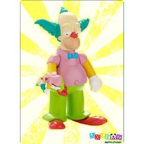 Krusty Theclown Figura Parlante Coleccionable Edicion 25años