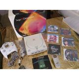 Consola Dreamcast Control Memoria Vibrador En  Caja Original