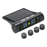 Monitor De Presión De Neumáticos Inalámbrico Solar Tpms