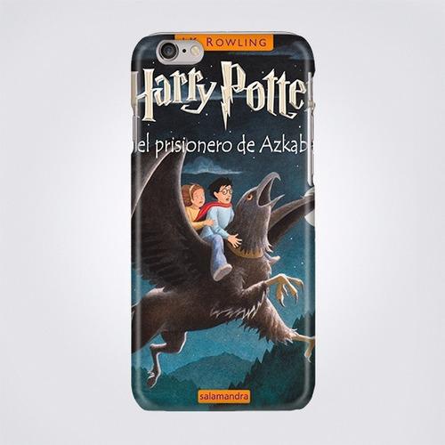 Funda Para Celular Harry Potter Portada Libro Ilustracion En Venta