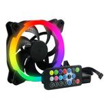 Kit 3 Ventiladores 120mm + Controlador Rgb Gaming Ogpf01