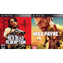 Red Dead Redemption + Max Payne 3 Ps3
