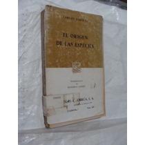 Libro El Origen De Las Especies Carlos Darwin , 377 Paginas