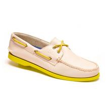 Zapato De Piel Top Sailer Modelo 1401 Beige