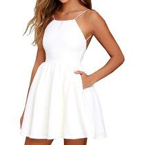 Busca Vestidos Blancos Cortos Con Los Mejores Precios Del