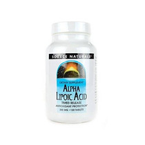 Source Naturals Ácido Alfa Lipoico 300mg 120 Tabletas