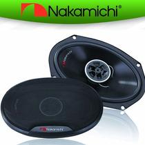 ¡¡oferta!! Nakamichi Bocinas 6x9 360 Watts 2 Vías Sp-s6920