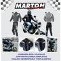 Pantalon C3 Motociclista Con Protecciones En Textil C600