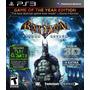 Batman Arkham Asylum Goty + Batman Arkham City Game The Year