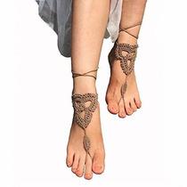 Ganchillo Descalzo Sandalias / Zapatos / Desnudos Joyería De