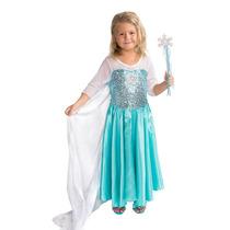 Craze Mariposa Snow Queen Vestuario Con Snow Flake Varita Se