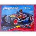 Playmobil Set De Carro De Carreras Negro Sports Y Action