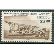 Sc C326 Año 1967 B1 Primer Correo Aereo Mexico Pachuca