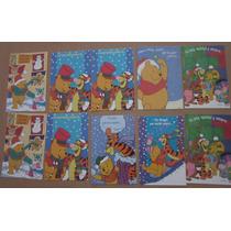 Navidad/año Nuevo** 22 Tarjetas Winnie Pooh Carlton** Hm4