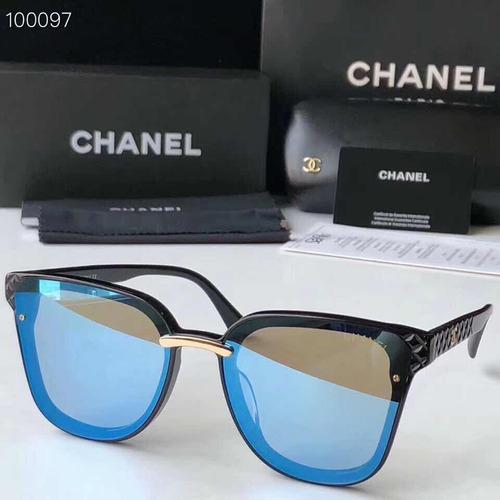 3c47d3b4b6 Lentes De Sol Chanel Ch5047 Black Blue