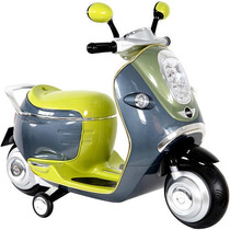 Motoneta Juguete Montable Electrica Mini Cooper Para Niños