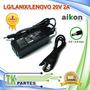 Cargador De Laptop Para Lg/lanix/lenovo 20v 2a. Ai-46