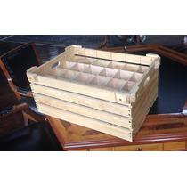 Tiffany Caja Transportadora Vasos Copas Madera Evite Daños