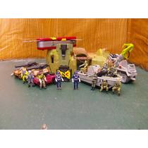 Lee Anunc X Lote Diorama 8 Vehiculo Militar & 11 Figura 1/55
