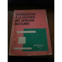 Introducción A La Historia Del Derecho Mexicano - Margadant