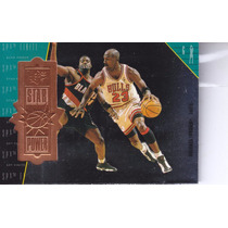 1998-99 Spx Finite Star Power Michael Jordan Bulls /5400