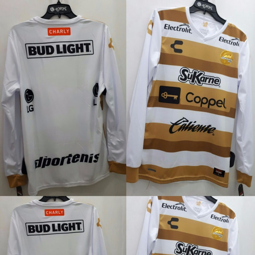 Jersey Dorados Charly Local Manga Larga 2017 2018 Original 1ee5b858b4c2