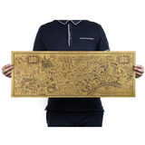 Harry Potter Mapa Merodeador 72cm Póster Grande