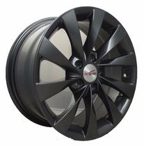 Rin 15 Deportivo Aluminio 5/100 Negro Mate Xavion
