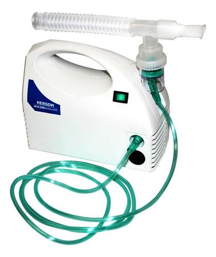 Nebulizador De Compresor Hergom 403b Blanco 110v