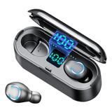 Audifonos Inalámbricos Bluetooth S2k Tws F9-1 In-ear