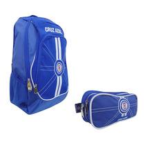 Paquete Mochila Y Lapicera Futbol Soccer Cruz Azul 7813-2
