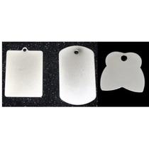 Placa Metalica P Grabdo Con Plotter De Corte X 10unidad