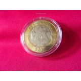Moneda 20 Pesos Marina Con Capsula 2016 Nueva #1