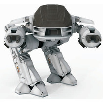 Robot Ed 209 Papercraft Para Modelismo En Papel