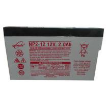 Bateria Marca Genesis Np2-12,12v/2ah,1 Año,juguetes,no-break