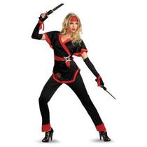 Ninja Traje Del Dragón De La Mujer Disfraz