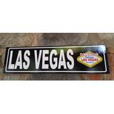 Las Vegas Nevada Pais Cuadro Cartel Carretera Señalamiento