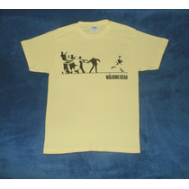 Playera Camiseta The Walking Dead Keep Walking Johnny Walker