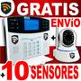 Camara Ip Y Alarma Smart Gsm Seguridad Casa Negocio Celular