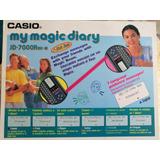 Agenda Electrónica Casio My Magic Diary Jd-7000 Magic Beam