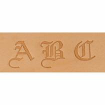 Estampador Letras P/ Piel Tandy Leather Factory Alphabet Old